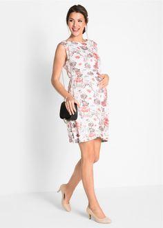 87a5bcf0c257fc Umstands-Shirtkleid rosa grau bedruckt jetzt im Online Shop von bonprix.de  ab