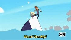 steven universe sadie lars oh no our ship is sinking Sadie And Lars, Steven Universe Memes, Lapidot, Star Vs The Forces Of Evil, Cartoon Shows, Force Of Evil, Cool Cartoons, Cartoon Network, Adventure Time