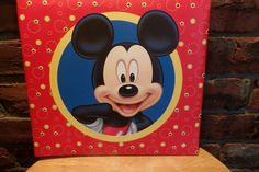 Mickey Mouse Scrapbook kit, Rare Mickey Mouse photo book, Sandylion Mickey Mouse book, Disney photo album by Morethebuckles on Etsy