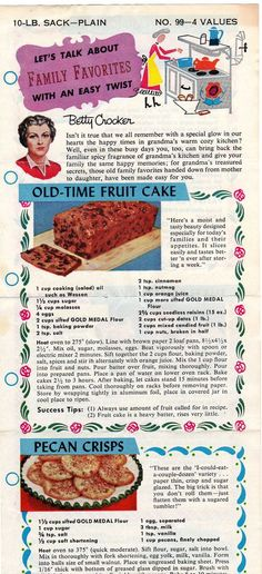 old time fruit cake | Flickr - Photo Sharing!