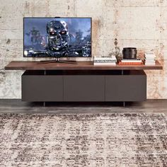 Hayden Modern Black TV Entertainment Center EUR865 Liked On
