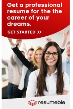 Get career advice along with services from the best professional resume writers online. Build your winning resume now with Resumeble resume writers! Resumeble is the best of all resume services online! Resume Writing Services, Resume Writing Tips, Resume Tips, Resume Examples, Dream Career, Job Career, Career Coach, High School Resume, Professional Resume Writers