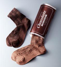 バレンタインに贈りたい♡ 板チョコみたいなバレンタイン限定ソックス | 阪急阪神百貨店・ライフスタイルニュース Cool Packaging, Brand Packaging, Packaging Design, Mode Poster, Boys Socks, Pink Socks, Colorful Socks, Happy Socks, Designer Socks