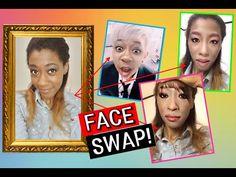 얼굴 변신 앱 완전 웃기고 조금 무섭고 꿀잼이다! ㅋㅋㅋ Korean Celebrity FACE SWAP! SO FUNNY! lol