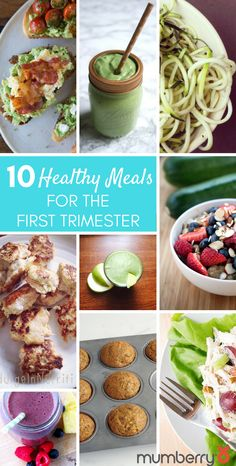 10 Healthy Meals For the First Trimester of Pregnancy! | Mumberry