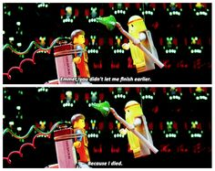 Lego movie. I don't know about the rest of you guys but this movie made me laugh out loud.