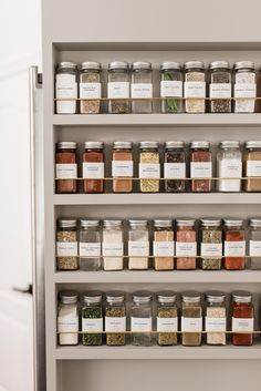 spice rack organization ideas A pro shares kitchen organization tips that'll help anyone shape up their space—even if storage is at a minimum. Spice Rack Organization, Kitchen Organization Pantry, Home Organisation, Organized Kitchen, Organization Ideas For The Home, Kitchen Storage Jars, Small Kitchen Decorating Ideas, Organized Home, Diy Kitchen Ideas