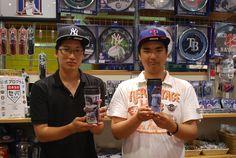 【大阪店】2014.07.09 観光で台湾からご来店頂きました!キャップとタンブラーをご購入いただいています^^また日本に来られたら遊びに来てくださいね^^