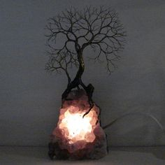 Wire Tree Of Life Ancient Spirit sculpture on by CrowsFeathers