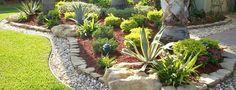 Gorgeous ...front side lawn ideas