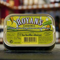 Sardines à la Royans Ravigotte (mit eingelegtem Gemüse)