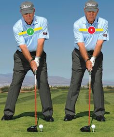 Spine Tilt - Staying Behind the Ball - Weight Shift to prevent slice! http://youtu.be/EVJKpu0EWn4