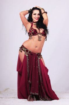 ASTARTE. Diana Bastet Outfit. Tribal, Ethnic, Fusion, Belly dance costume (bloomers-skirt + belt + bra + necklace + earrings)