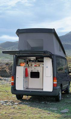 Westfalia Nugget (Ford Transit) camper