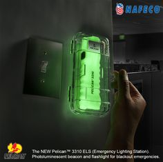 Pelican Products Emergency Lighting Station is a super bright, high lumens Medium Light. Check out Flashlights for LED waterproof, police, military, & safety lights. Survival Tools, Survival Prepping, Emergency Preparedness, Survival Equipment, Urban Survival, Survival Life, Edc, Industrial Safety, Home Defense