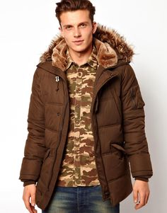 Faux Fur for Men with Style  www.furfrenzy.com #fashionstatement #fauxfur #trendy #men