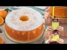 Ricetta Facile Chiffon Cake, Sweet Light, American Cake, Torte Cake, Something Sweet, Christmas Desserts, Cake Cookies, Biscotti, Cake Pops