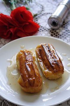 Tulumbe, Serbian eclair .... this recipe is for baked Tulumbe ... Soaking Syrup recipe included.