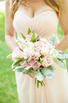 Blushing pink for your bridesmaids #cedarwoodweddings Cedarwood Country Music Destination Wedding | Cedarwood Weddings