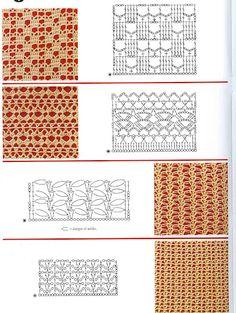 Various Lace Crochet Patterns