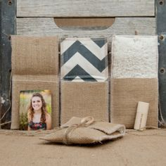 Burlap USB/Wallet Pouch - Kraft & Jute Packaging