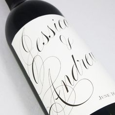 Wedding  Wine Labels  personalized wine labels by nancynikkodesign, $25.50