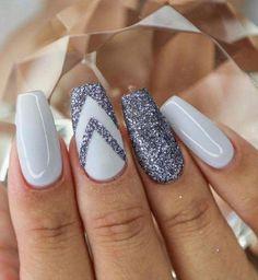 Nail design 2020 nails ideas for 2020 - nails at home - . Nail design 2020 nails ideas for 2020 - Nails at home - # Nails Acrylic nail coffin African print headwraps and headtie. Best Acrylic Nails, Acrylic Nail Designs, Nail Art Designs, Nails Design, Glitter Nails, My Nails, Gold Glitter, Blue Nail, Nail Black