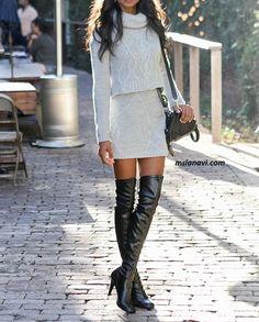 Crochet Skirts, Crochet Clothes, Knit Crochet, Trendy Fashion, Girl Fashion, Womens Fashion, Fashion Trends, Fall Winter Outfits, Winter Fashion