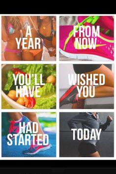 Start today, don't wait till tomorrow