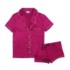 Journelle Bardot Short PJ Set, $148; journelle.com