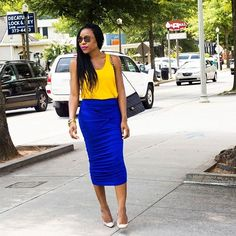 #tbt to this &  combo. Skirt by @ladyeeboutique