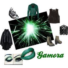 """Gamora/ Gardians of the Galaxy"" by mcgoond on Polyvore"
