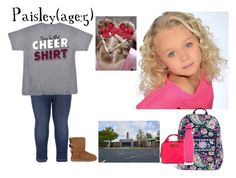 """""""Paisley//1-17-17//School"""" by dream-families ❤ liked on Polyvore featuring UGG Australia, Vera Bradley, S'well and TheWhitleyFamily"""