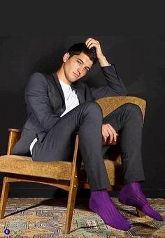 Silk Socks, Sheer Socks, Male Fashion Trends, Mens Fashion, Mens Leotard, Dreadlocks Men, Smoking, Colorful Socks, Fashion Socks