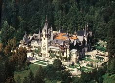 Peles Castle, Romania - the residence of the Romanian Royal Family turned into a museum. I've seen many castles, but this one has a personality that so far hasn't been topped. I recommend it to anyone visiting Romania!