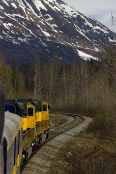 alaska railroad #trains
