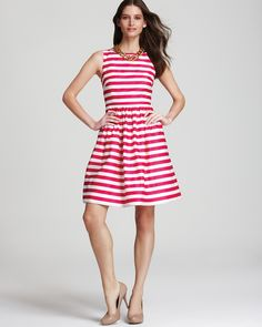 Lilly Pulitzer Eryn Striped Dress  PRICE: $198.00 - ADORE!