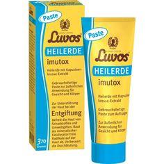 LUVOS Heilerde imutox Paste:   Packungsinhalt: 370 g Paste PZN: 12548281 Hersteller: Heilerde-Gesellsch.LUVOS JUST GmbH&Co.KG Preis: 6,43…