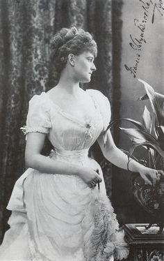 Daisy Greville, Countess of Warwick, Lafayette Studio, 1897