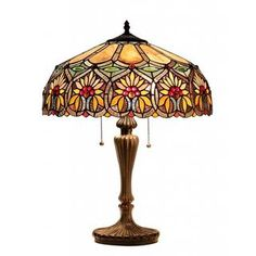 Tiffany Style Floral Design 2-light Table Lamp - Overstock™ Shopping - Great Deals on Tiffany Style Lighting