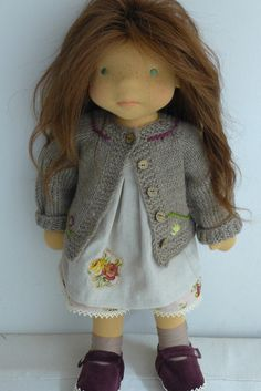 "TAMARA 19"" doll  Dearlittledoll #dearlittledoll #handmadetoys #naturaldolls…"