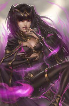 Tharja - Fire Emblem: Awakening by richytruong.deviantart.com on @deviantART