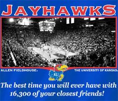 Allen Fieldhouse, Home of the Kansas Jayhawks