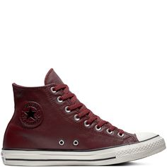 Chuck Taylor All Star Leather High Top. Leather High TopsConverse ... ccfc44edb