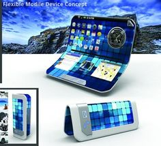Android Phone Flexible. #innovation #future #NTIC