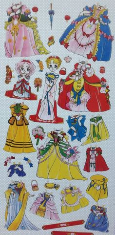 asien #paper dolls