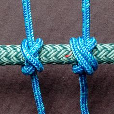 Constrictor Knot -- great for tying nock locators onto bow strings.