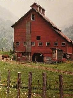 Barn In West Virginia