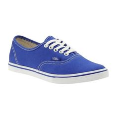 Vans Authentic Lo Pro ($45) ❤ liked on Polyvore