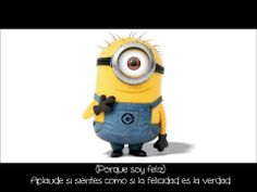 Happy - Pharrel Williams (Despicable Me 2) Subtitulos Español - YouTube